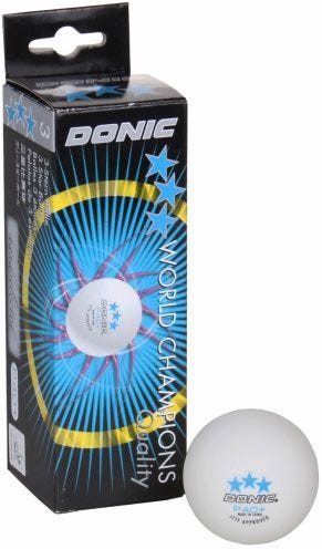 Donic 3-star P40 3-pack