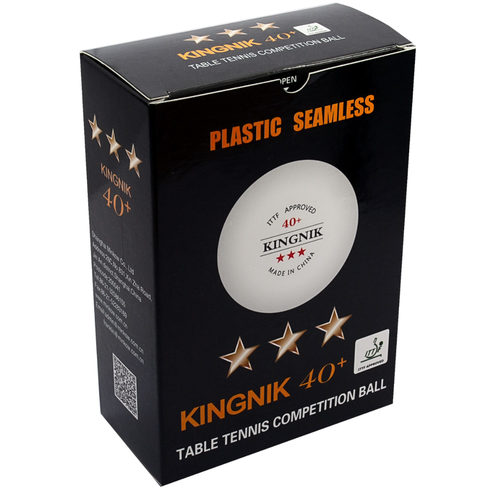 Kingnik 40+ 3-star 6-pack